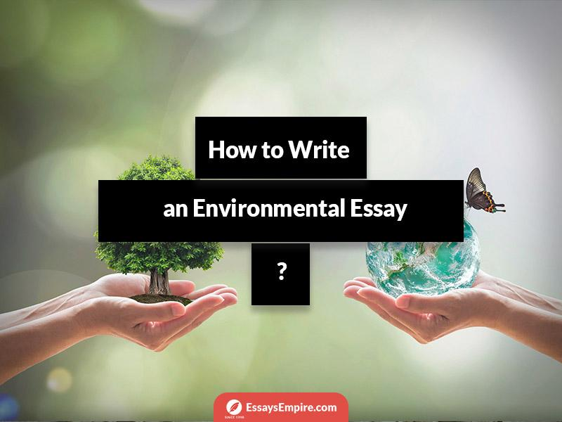 How to Write an Environmental Essay