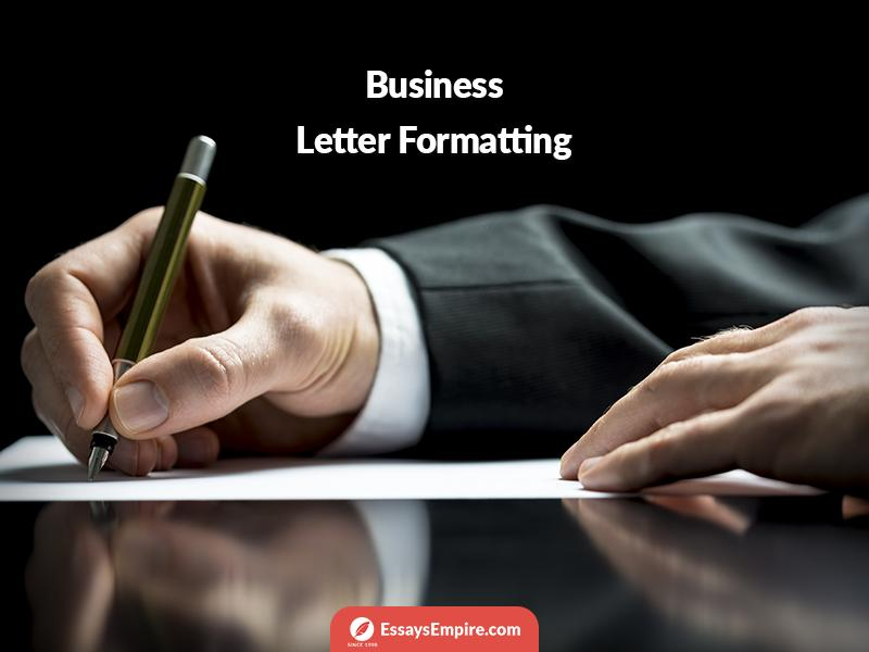 format-a-business-letter