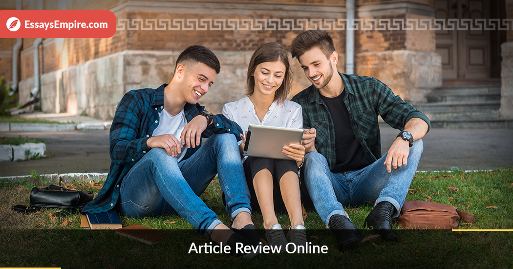 article review online