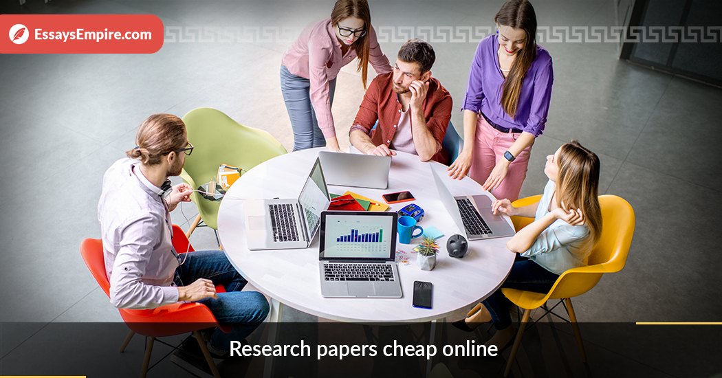 research papers cheap